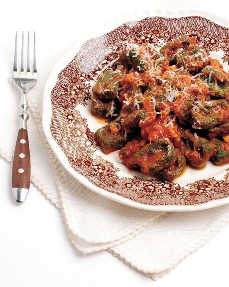 Strangolapreti agli spinaci