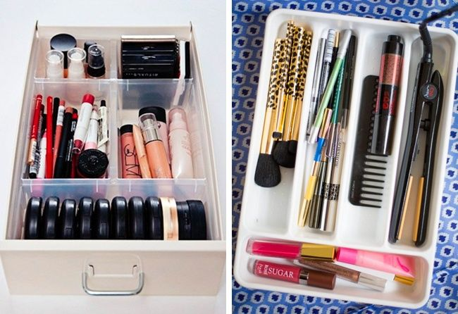 Eighteen indispensable tips for storing your precious cosmetics