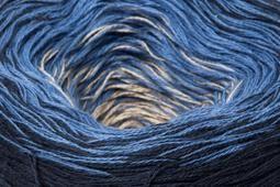 Spring Rainbow 51 sötétkék/kék/drapp 150 g - Rea Tex Kézimunka Webáruház