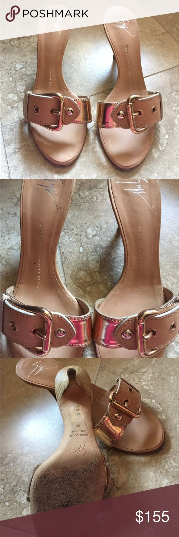 Authentic Giuseppe Zanotti heels In great preowned condition. Absolutely beautiful Giuseppe heels Giuseppe Zanotti Shoes Heels