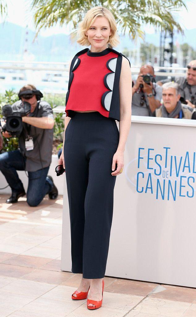 Cate Blanchett from 2014 Cannes Film Festival: Star Sightings | E! Online
