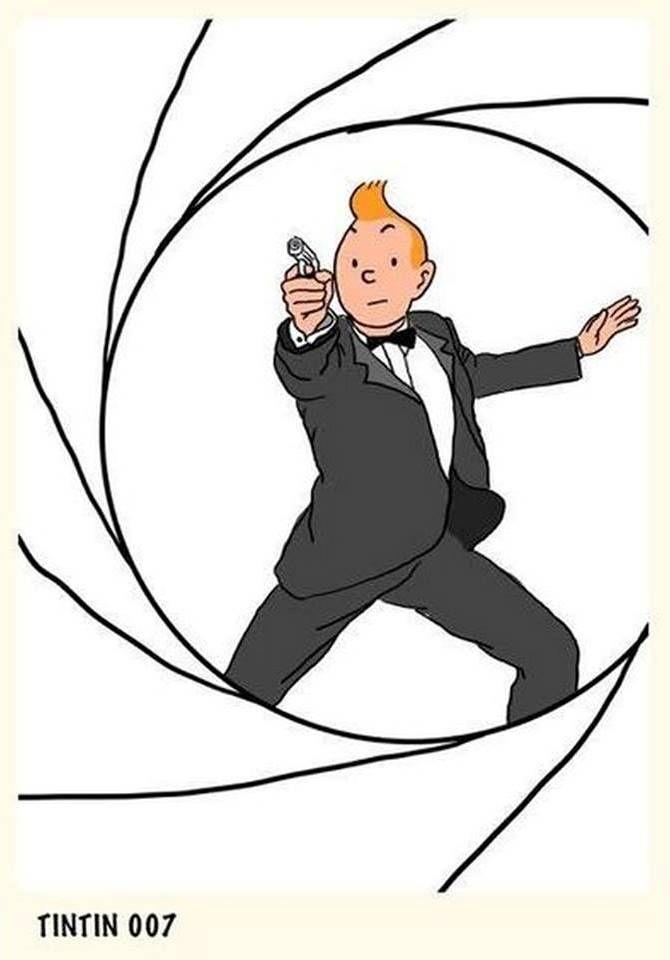 Les Aventures de Tintin - Album Imaginaire - Tintin 007