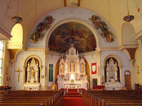 interior  saint paul the apostle church  formerly st