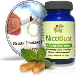 awesome NicoBust Stop Smoking Pills   Quit Smoking MP3 Audio