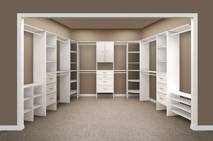 """Home depot Closet made -2' from left wall and -3'53/4"""""""
