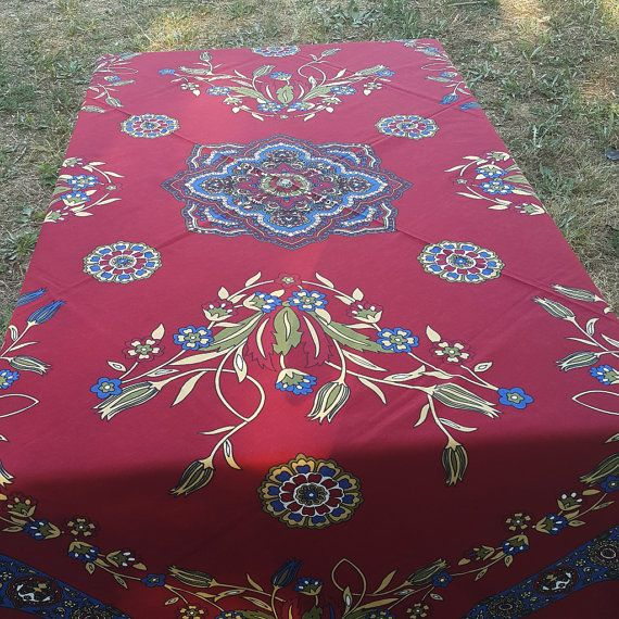 Check out this item in my Etsy shop https://www.etsy.com/listing/454873556/tablecloth-clared-red-color-cotton-linen