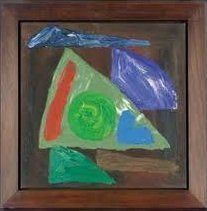 John Hoyland, Moonshot, 1983 at www.meadcarney.com   #JohnHoyland #MeadCarney #London #art #artgallery