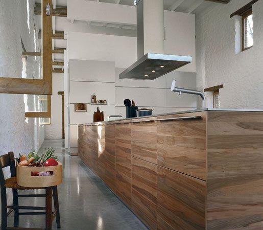 B3 U2013 Planked Apple FrontsBULTHAUP. Moderne Küche ...