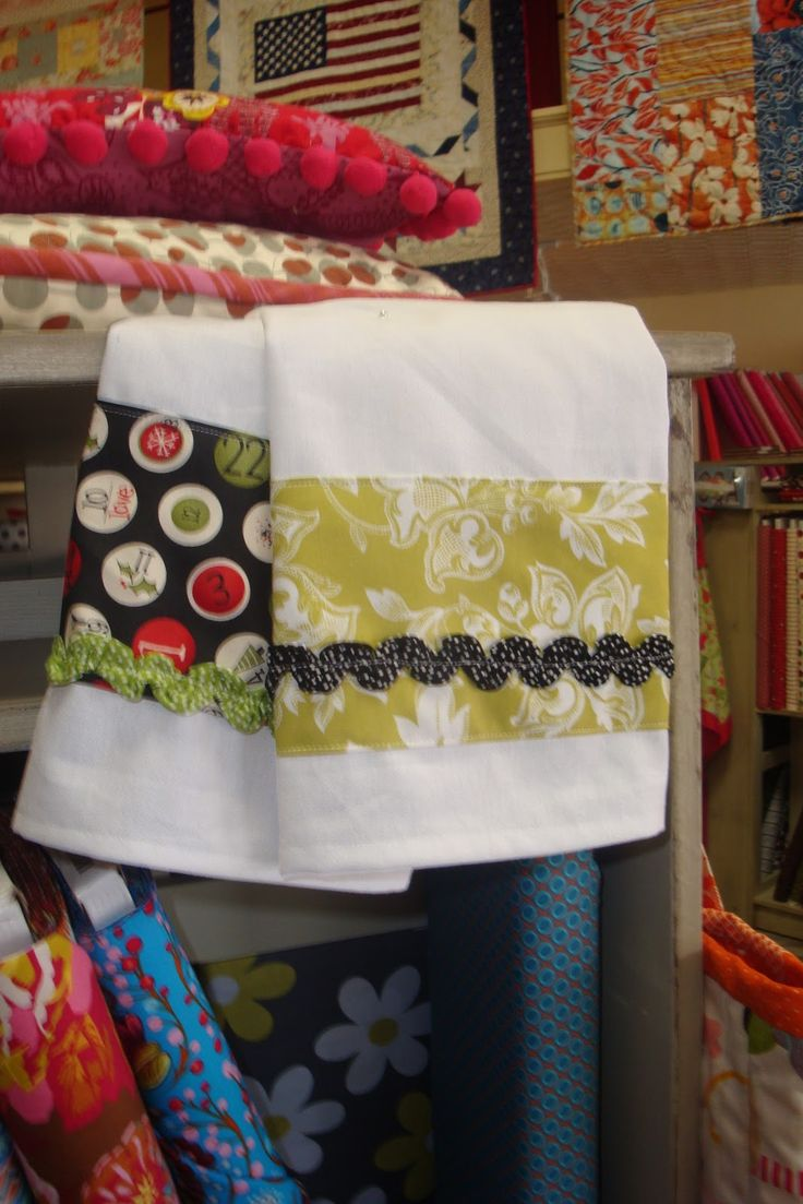 QUILT BARN: Simple Home Project- Dishtowels