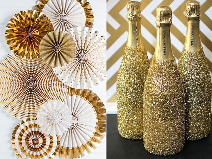 25 best ideas about glitter champagne bottles on for 15 years party decoration