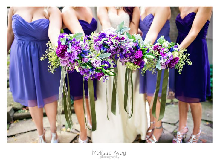 I love these wedding flowers for the girls. #wedding