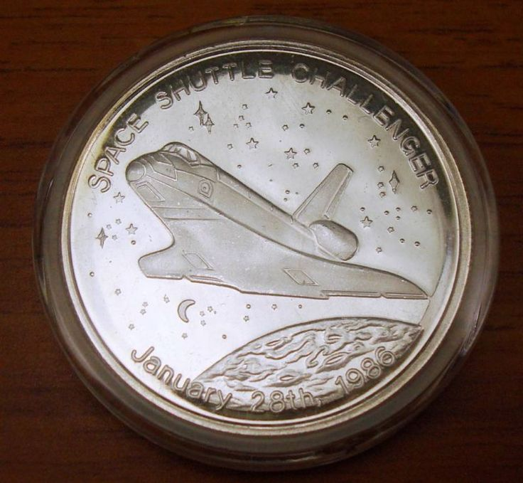 space shuttle challenger coins - photo #16