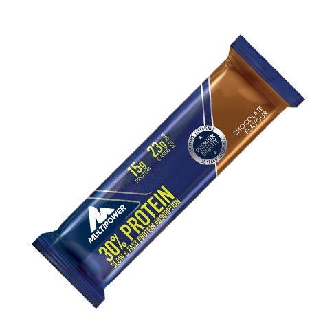 Suplimente Multipower. Baton proteic delicios cu crema de ciocolată cu 30% proteina