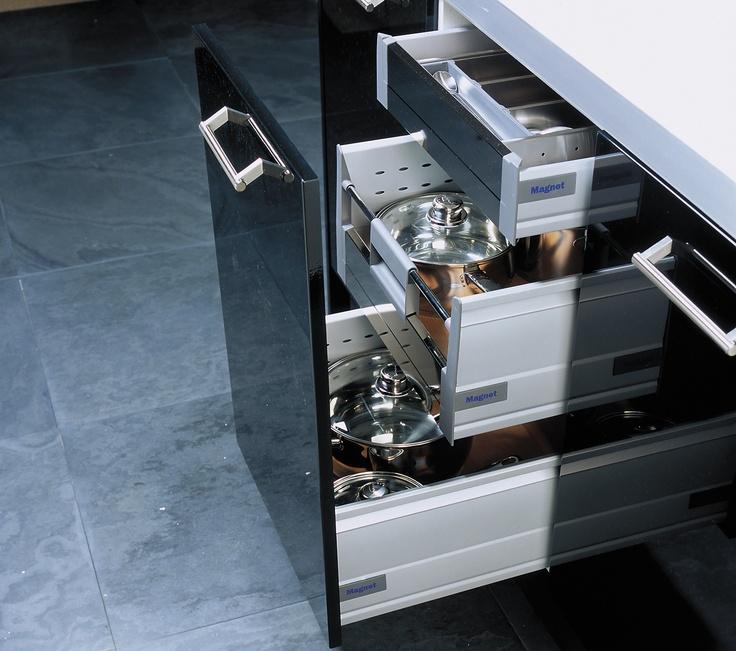 Blumotion Internal Drawer System #storage #solutions