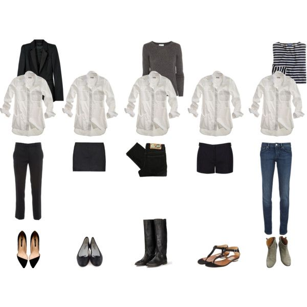 """""""Wardrobe Essentials: The White Shirt"""" by coffeestainedcashmere on Polyvore"""