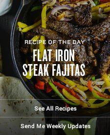 Flat Iron Steak Fajitas Recipes | Traeger Wood Fired Grills