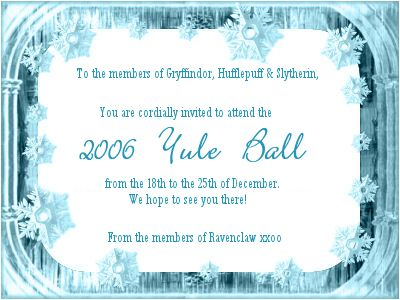 55 best yule ball images on pinterest | yule ball, harry potter, Einladung