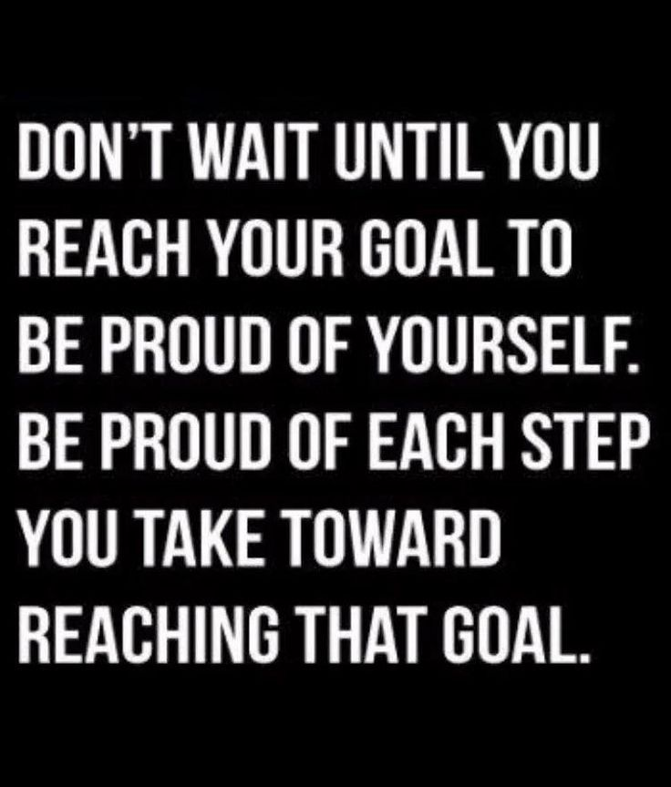 Exactly, don't beat yourself up. Be proud and encourage yourself with each good decision