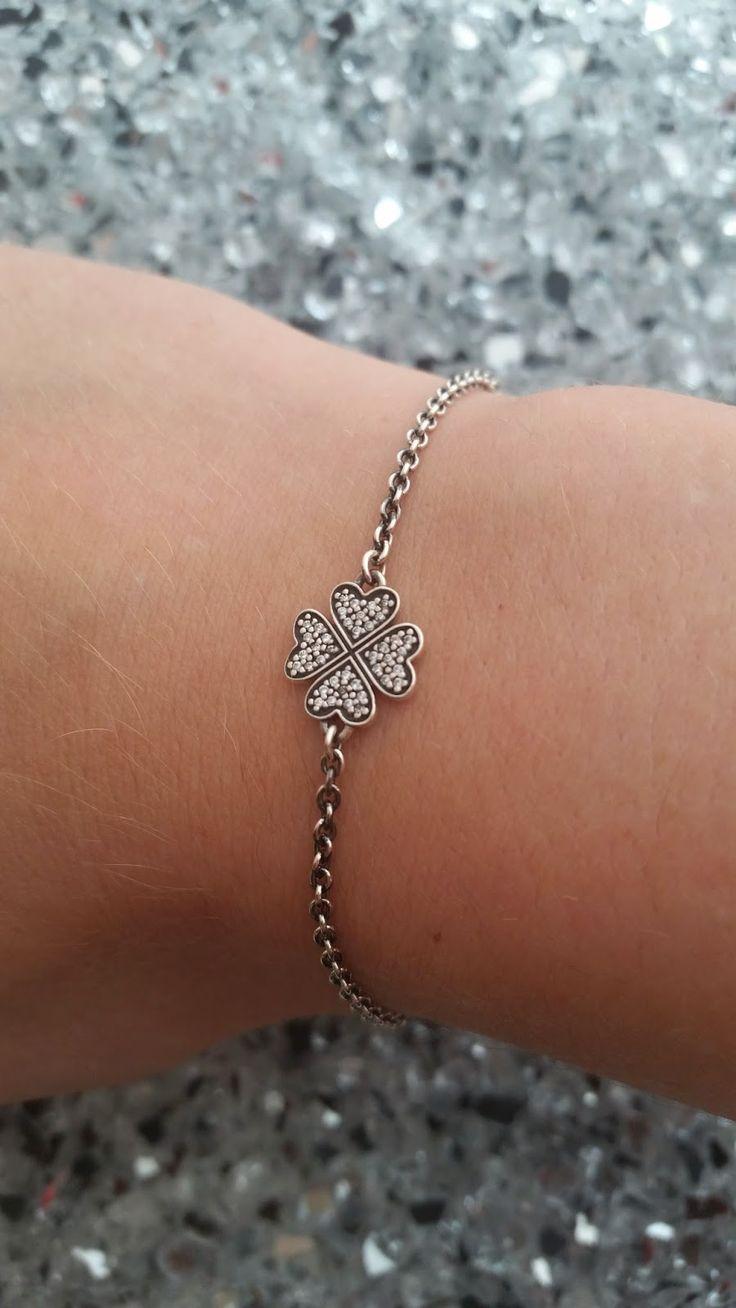 Annitschkas Blog: Pandora Armband - Kleeblatt