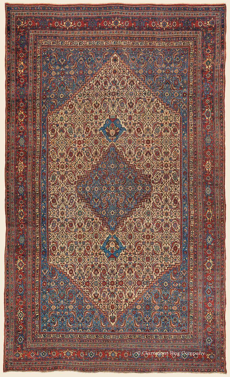 BIJAR (Bidjar), Northwest Persian Antique Rug - Claremont Rug Company