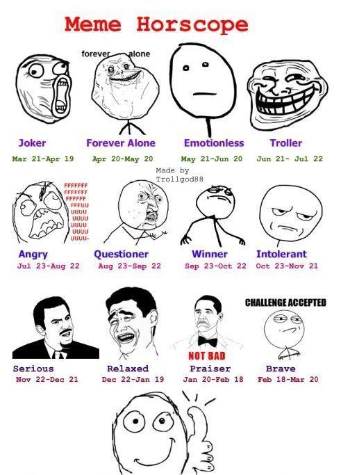 Meme Horoscope.