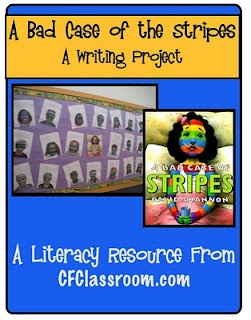 """""""Bad Case of the Stripes"""" writing project from the Clutter Free Classroom: Writing Projects, Clutter Free Classroom, Clutter Fre Classroom, Language Art, Bad Cases, Week In Review, Fun Ideas, Writing Ideas, Writing Activities"""