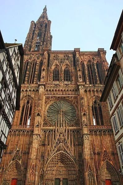 Beautiful Places In France -Cathedrale de Strasbourg, France