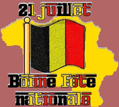 21 juillet - Bonne Fête Nationale #fetenationalebelge drapeau belge 21 juillet bonne fete