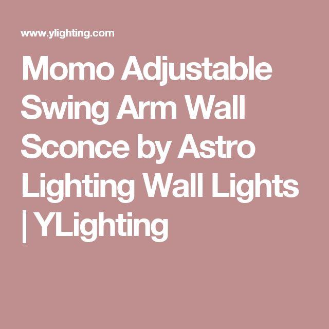 Momo Adjustable Swing Arm Wall Sconce by Astro Lighting Wall Lights | YLighting