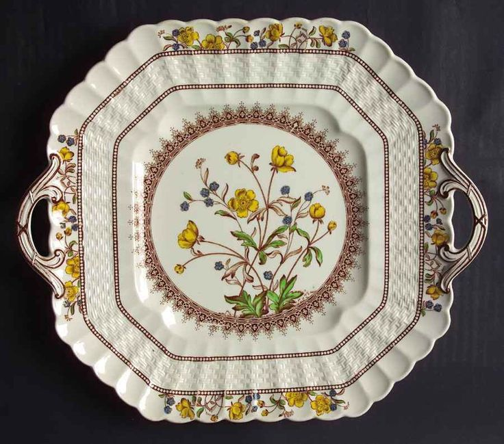 15 Best Images About Spode China Buttercup Pattern On