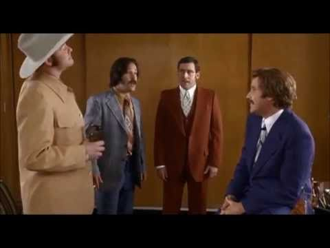 Anchorman - afternoon delight scene....I love this movie so much; and I love lamp, too. Haha