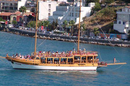 Kuşadası und seine diversen Strand-Aktivitäten