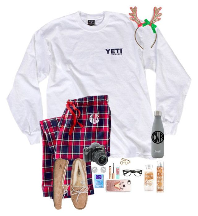 """Day 5 // Opening Christmas Presents "" by maxilicious ❤ liked on Polyvore featuring Calvin Klein, Mark & Graham, UGG Australia, ALPHA, Effy Jewelry, Clean & Clear, S'well, Casetify, Charlotte Tilbury and Maybelline"