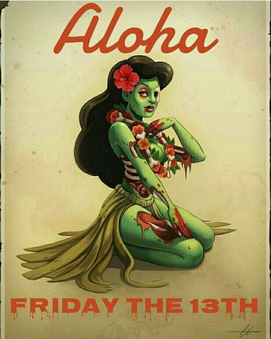 My next hula zombie