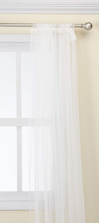 Amazon Com Ikea 901 119 80 Lill Sheer 2 Panels 98 X 110 1