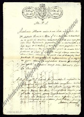 GENTE DEL MARIEL. : Don. Victoriano Pérez de la Riba Migrante que entr...