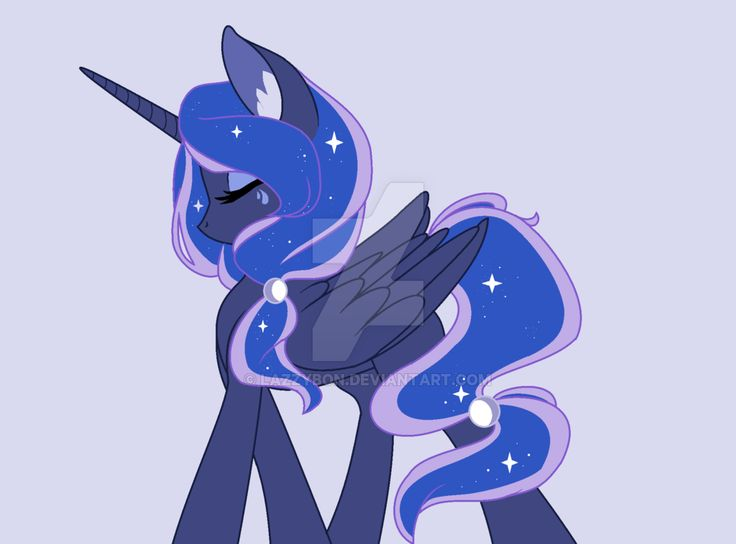 Princess Luna by LazzyBon.deviantart.com on @DeviantArt