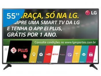 "Smart TV LED 55"" LG Full HD 55LH5750 - Conversor Digital Wi-Fi 2 HDMI 1 USB Aproveite Promocao 24Horas"