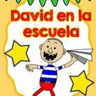 Unidad de David va a la escuela  Incluye:  Comprensión  Librito para el estudiante  Libro para el maestro  Tarjetas de comportamiento  Reglas del salón  E...