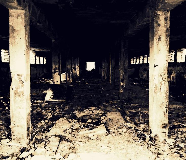 derelict place