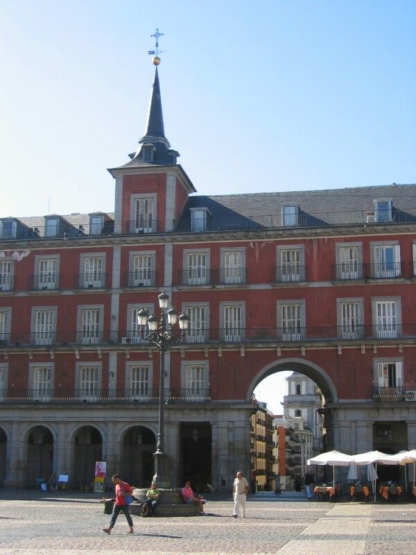 Plein in Madrid