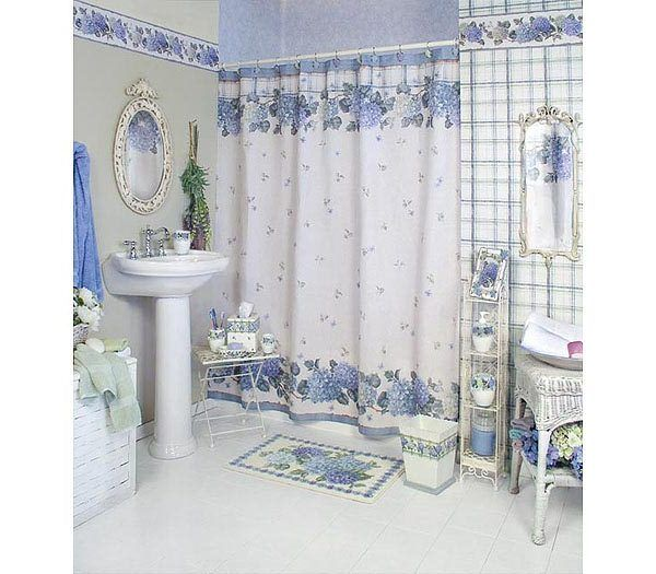 Website Picture Gallery Decorating ideas for adding color to your home Bathroom Shower CurtainsBathroom