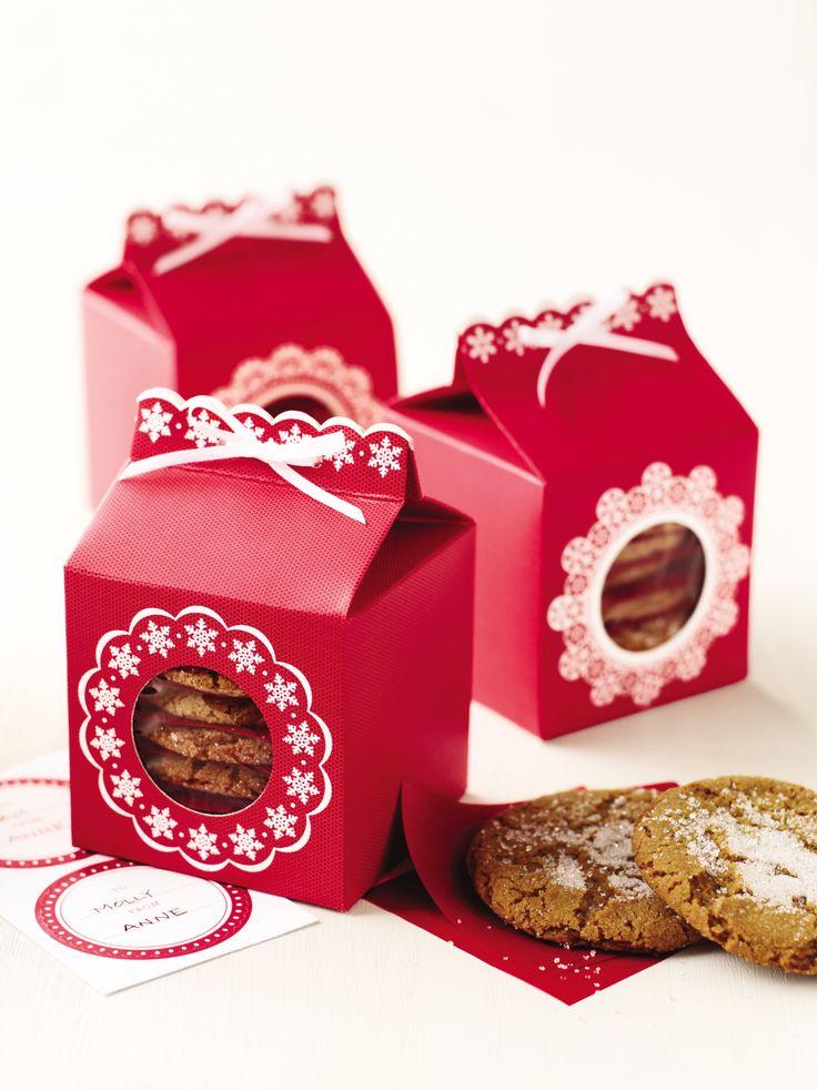 Upgrade Your Cookie Gifts With Martha Stewart Crafts Snow Lace Cookie Boxes  Marthastewartcrafts