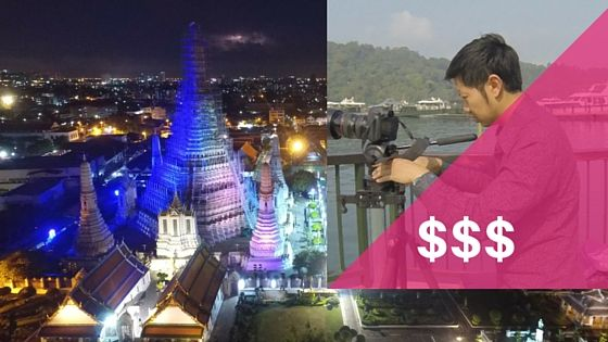 how much to charge for your footage