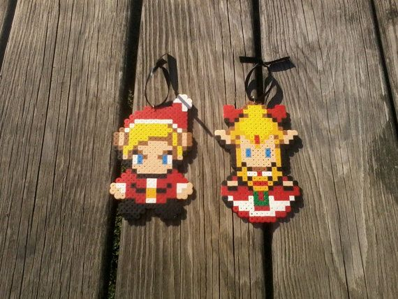 Legend of Zelda Christmas Ornaments - Hylian Christmas is coming! But it's 2013, please follow my other boards guys & girls :)  http://www.pinterest.com/zeldanet/