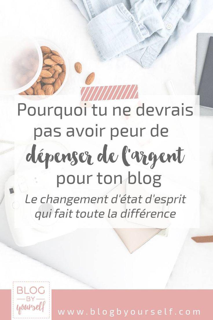 Quand on débute en blogging on a tendance à vouloi rfaire des économies. Pourtant dépenser de l'argent pour son blog n'est pas une mauvaise chose. Il faut juste prendre conscience de 2 ou 3 trucs et en tenir compte. #blog #bloggingtips #blogging #astucesblog #blogbyyourself