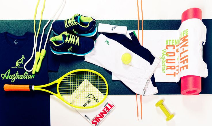 Choose your #outfit, play your tennis. #Australian #tenniswear #sportswear #wearing #colour #tennis #tennislover #training #practice