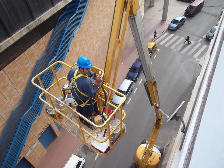 Rehabilitacion de fachadas en Castellón