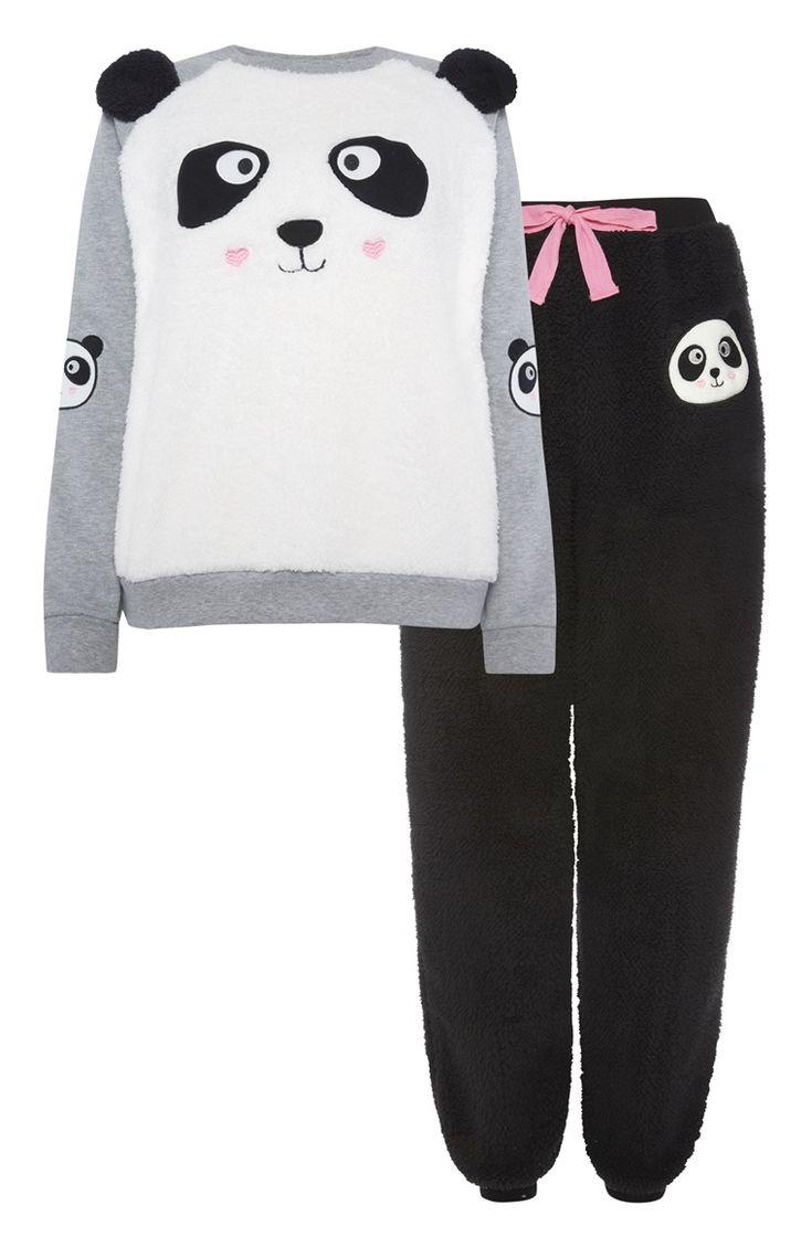Fleece pyjamaset Pete Panda