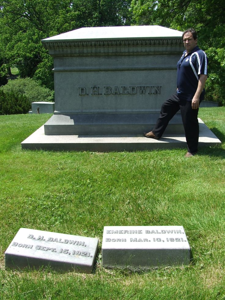Dwight Hamilton Baldwin - Baldwin Piano Co. - Cincinnati, OH